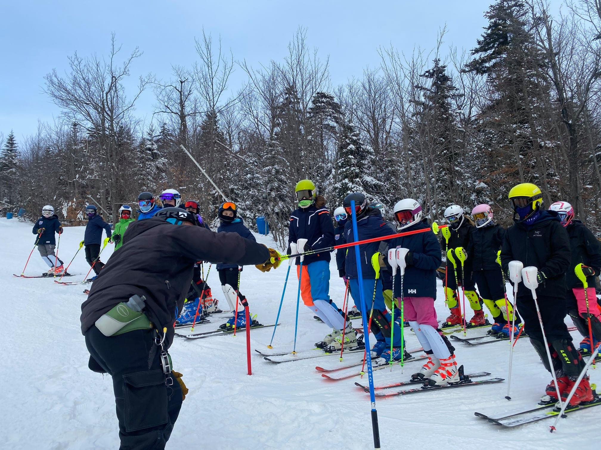 Gore Mountain / NYSEF training day U14s